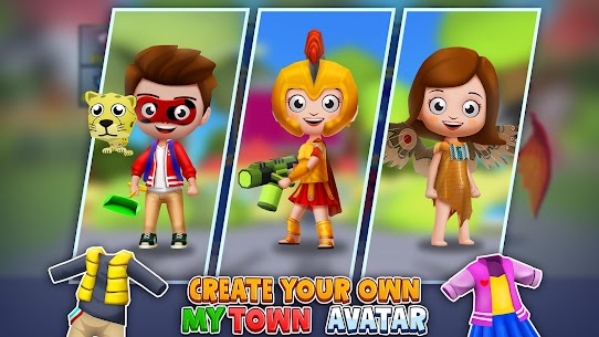 My Town World: 3D Mini Games for Kids 3
