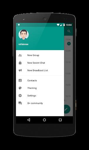 Plus Messenger screen 2