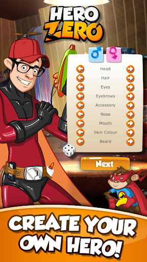Hero Zero Multiplayer RPG apklade screenshots 1