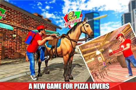 mounted horse pizza delivery 2021 hack