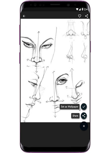 Face Drawing Step by Step  screenshots 3