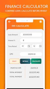 Finance Calculator :EMI