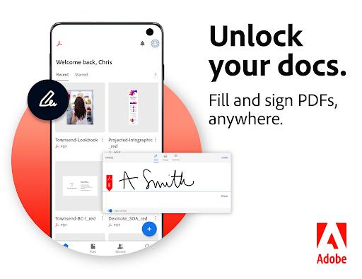 Adobe Acrobat Reader: Edit PDF screen 0