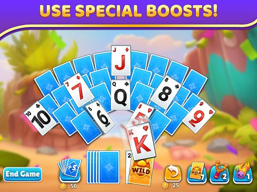 Puzzle Solitaire - Tripeaks Escape with Friends apkpoly screenshots 8