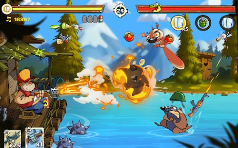 Swamp Attack 2 Mod Apk (Unlimited Money) 7