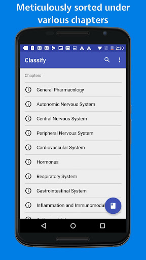 Classify Rx for pharmacology 4.8.0 Screenshots 1