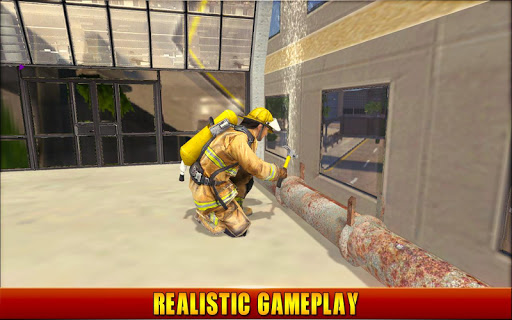 Firefighter Simulator 2018: Real Firefighting Game apkmr screenshots 9