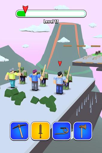 Roblock Transform Run - Epic Craft Race apkpoly screenshots 8