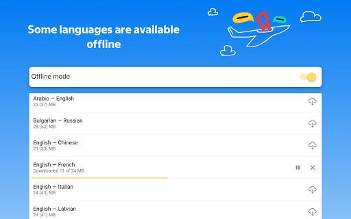 Yandex.Translate u2013 offline translator & dictionary modavailable screenshots 11