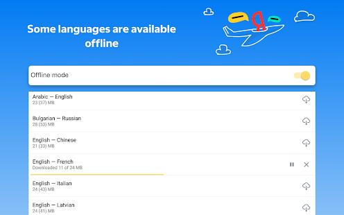 Yandex.Translate u2013 offline translator & dictionary screenshots 19