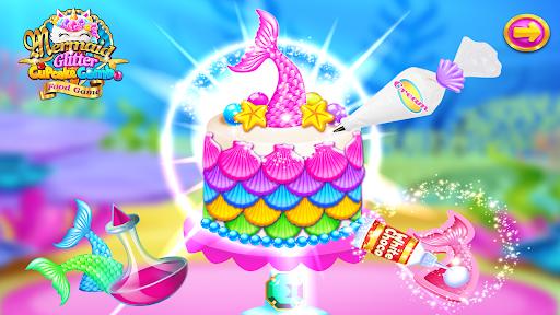 Mermaid Glitter Cupcake Chef - Ice Cream Cone Game  Pc-softi 7