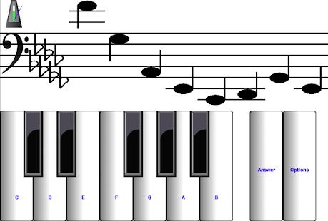 (light) learn sight read music notes piano tutor 7.0.3 Screenshots 9