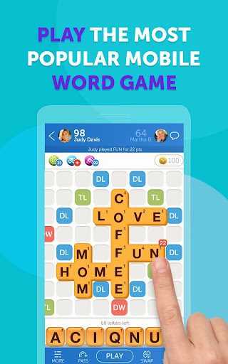 Words with Friends: Play Fun Word Puzzle Games 15.622 screenshots 1