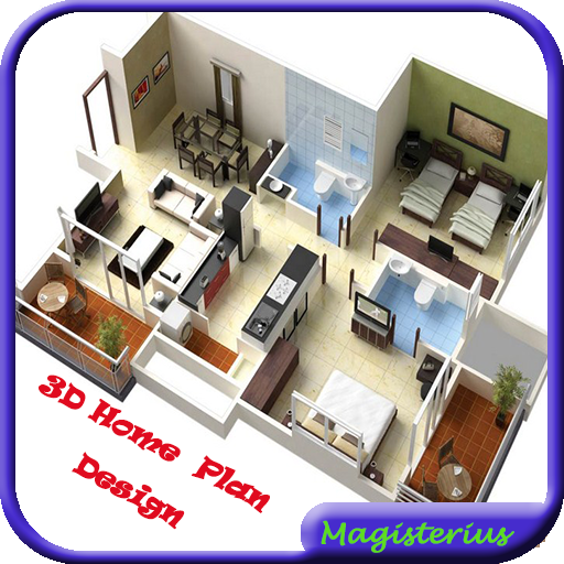3D Home Plan Design For PC Windows (7, 8, 10 and 10x) & Mac Computer