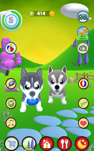Talking Husky Dog screenshots 15