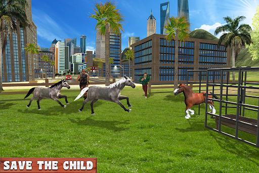 Horse Family Jungle Adventure Simulator Game 2020 screenshots 11