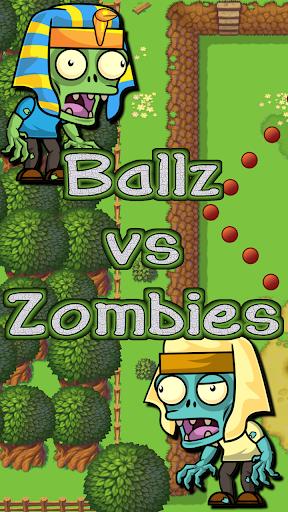 Ballz vs Zombies, zap a zombie  screenshots 1