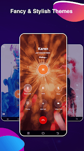Vani Caller Theme, Call Screen, LED Name Announcer