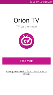Orion TV  Apps For Pc- Download And Install  (Windows 7, 8, 10 And Mac) 1