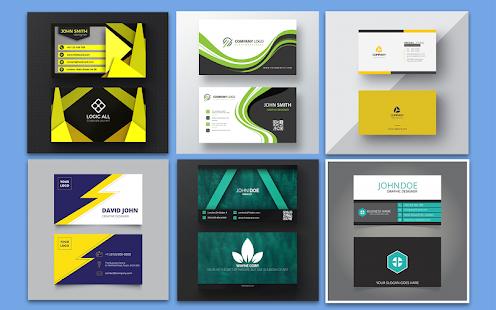 Business Card Maker u2013 Free Employee Card maker 30.0.1 Screenshots 1