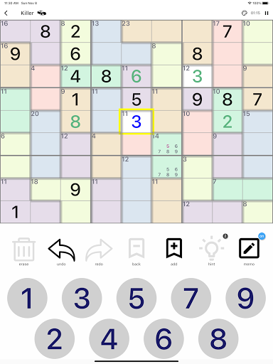All Sudoku - 5 kinds of sudoku puzzle in one app screenshots 12