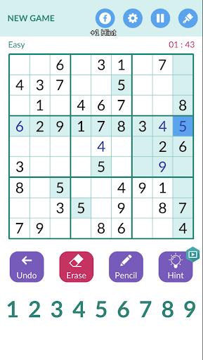 Sudoku Master 1.1.9 screenshots 3