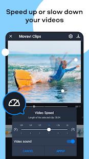 Movavi Clips - Video Editor with Slideshows screenshots 4
