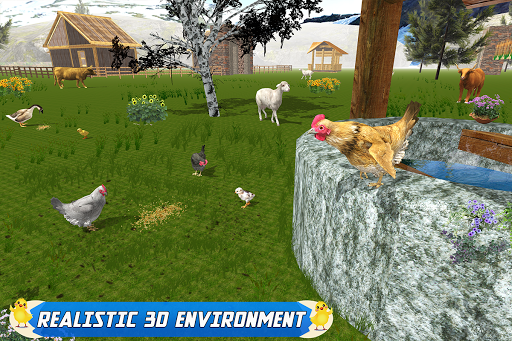 New Hen Family Simulator: Chicken Farming Games  screenshots 11