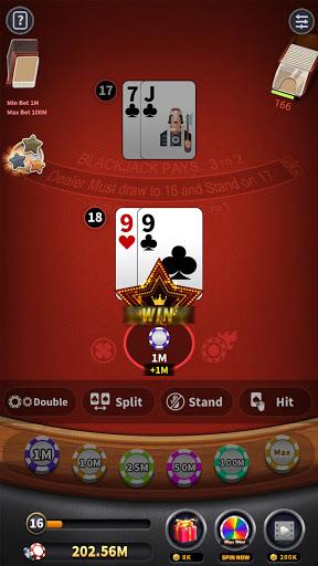 BlackJack 21 - blackjack free offline games 1.5.2 screenshots 4