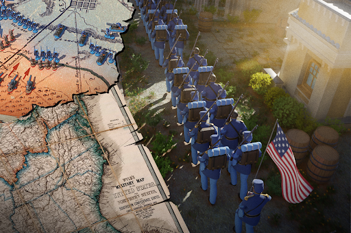 War and Peace: The #1 Civil War Strategy Game  screenshots 3