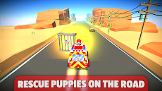 Paw Puppy On The Road Patrol Rescueのおすすめ画像2