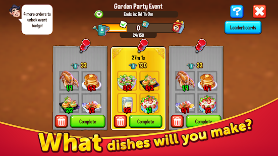 Food Street - Restaurant Management & Food Game Screenshot