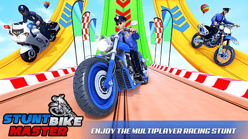 Police Bike Stunt Games: Mega Ramp Stunts Game 1.1.0 screenshots 18