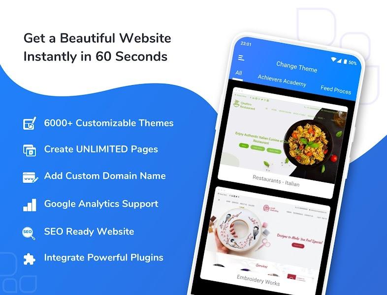 Omni Websites: Free Website Builder & Online Store