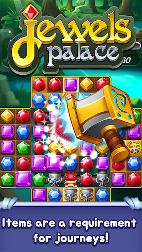 Jewels Palace: World match 3 puzzle master apkslow screenshots 19