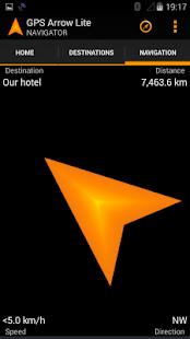 GPS Arrow Navigator LITE