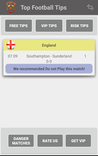 top football tips screenshot 1