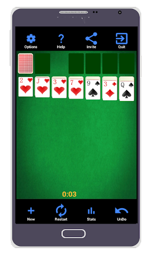 solitaire pro screenshot 1