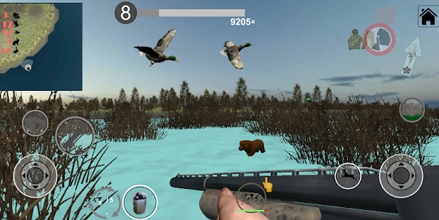 Hunting Simulator Game. The hunter simulator Screenshot