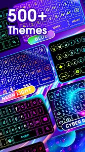 Neon LED Keyboard v2.0.1 Mod APK 2