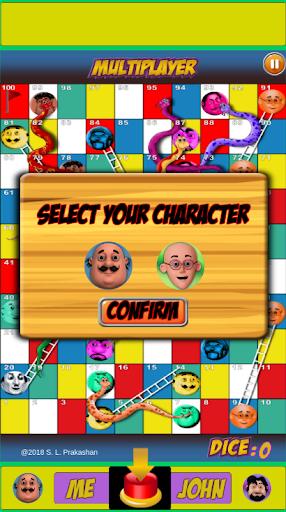 Motu Patlu Snakes & Ladder Game  screenshots 4