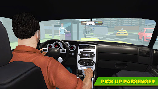 Virtual Single Dad Taxi Driver Sim 1.1 screenshots 4