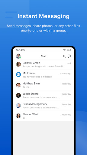 Yeastar Linkus Mobile Client apktram screenshots 4