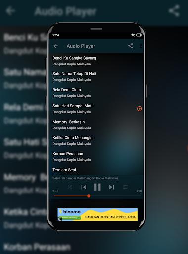 Dangdut Koplo Spesial Lagu Malaysia Offline  screenshots 1