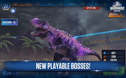 Download Jurassic World Mod Apk 2021 [Unlimited Shopping & Everything] 8
