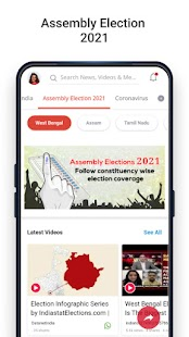 Dailyhunt - Local, National, Election News & Video Screenshot