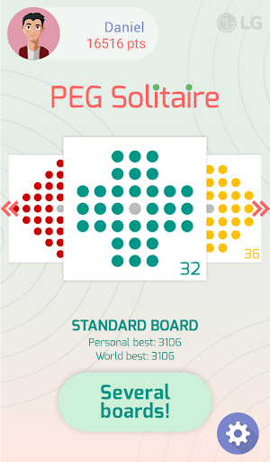 LG Peg Solitaire 1.2.0.1 apktcs 1