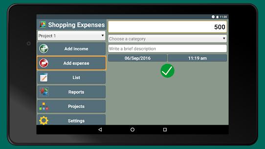 Shopping Expenses MOD APK (Premium Unlocked) Download 9