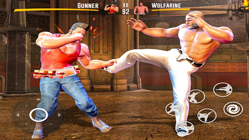 Kung fu fight karate Games: PvP GYM fighting Games  screenshots 1