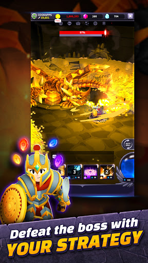 AFK Dungeon : Idle Action RPG android2mod screenshots 8